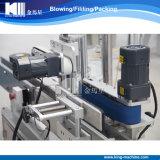 De automatische Dubbele Machine van de Etikettering van Kanten Zelfklevende voor Diverse Soorten de Flessen van het Huisdier