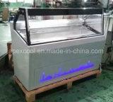 Congélateur neuf de glace de type/usine italienne d'OEM de congélateur d'étalage de crême glacée
