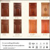 白いPVC真空の食器棚のドア(FY056)