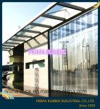 高品質合板、ドア・カーテンのための明確なPVC装飾的な端ストリップ