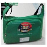do malote barato do saco do estilingue de Shoulderbag da escola 600d saco de livro relativo à promoção