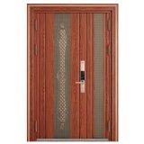 古典的なステンレス鋼の機密保護のドアデザイン
