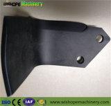 Los productos de hierro fundido personalizado de calidad de la hoja de la lanza de maquinaria agrícola