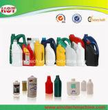 Doppeltes Station PET Milchflasche-Shampoo füllt Strangpresßling-Blasformen-Maschine ab