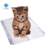 猫のための極度の吸収性ペットシートのスリープの状態であるマット