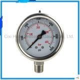 2.5inches振動証拠304のステンレス鋼の圧力計