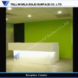 Mostradores de recepción de LED para oficina