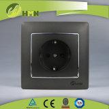CE/TUV/CB Certified Европейский стандарт красочные токопроводящей дорожки 1 GOLD Schuko Socket
