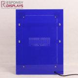 Étalage minuscule acrylique de haut-parleur de modèle de Chaud-Vente neuve de partie supérieure du comptoir avec la DEL