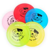 Haltbarer Baumwolseil-Haustier-Großhandelshund spielt Frisbee