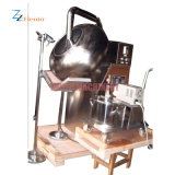 Máquina de revestimento automática elétrica da pipoca/petisco/porca do aço inoxidável