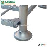 Puder-Beschichtung-Speicher beansprucht Ladeplatten-stapelnde Rahmen stark