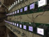 Detetor de gás industrial de Sliane do indicador do LCD (SiH4)