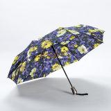 بالجملة زهرة طباعة [سون] ثني مظلة