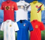 로고를 가진 남자의 축구 저어지 제복 유명 상표 축구 제복 농구 셔츠 셔츠