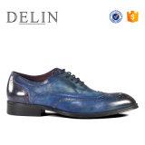 Размер 41-46 мужчин из натуральной кожи платье обувь красочные