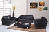 Sofá moderno da mobília da sala de visitas com couro genuíno