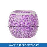 Tealight voor de Houder van de Kaars van het Glas van het Mozaïek van de Ambachten van de Decoratie van de Lijst van het Huis van het Huwelijk