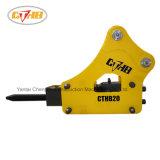 Ciseau Soosan SB40 68mm marteau hydraulique utilisé pour excavatrice 4-7tonne