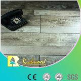 12,3mm lado comercial raspadas Oak V-capas piso laminado
