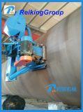 Het Vernietigen van het Schot van de Roest van de Muur van de Pijp van het staal Buiten Schoonmakende Machine