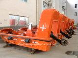 Solas FRP de Boot van de Redding met Kraanbalk voor Verkoop
