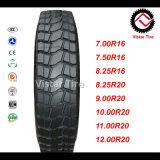 최고 질 TBR 타이어, 버스 타이어, 트럭 타이어 (7.50R16, 8.25R16, 11R22.5, 12R22.5, 295/80R22.5)