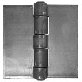 造られた鋼鉄頑丈な容器の鋼鉄ヒンジ