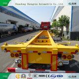 Programma di utilità 40FT di Shengrun dei 3 assi del contenitore del camion del trattore rimorchio di scheletro semi