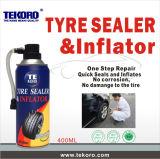 Reifen-Reparatur-Spray-Gummireifen-Abdichtmasse u. Luftpumpe