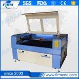 Laser-Ausschnitt-Stich, der Maschine für ledernes Acryl schnitzt