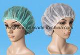 Tejida desechables Bouffant cabeza hueca para uso diario quirúrgico médicos