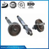 ISO9001 변속기 CNC에 의하여 기계로 가공되는 큰 벌레 또는 비스듬한 기어