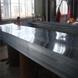 Placa de techos de chapa de acero galvanizado prebarnizado/placa placa PPGI de techos de metal de la placa de pared