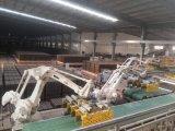 La línea de producción de ladrillos de arcilla