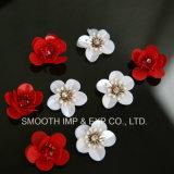 Мода цветок ручной работы украшения одежды красочные Sequin патч платье зерноочистки