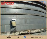 Máquina de soldadura horizontal superior da emenda da parte inferior para a máquina de soldadura automática da placa do tanque da máquina de soldadura da emenda do Girth do tanque do projeto do tanque/da máquina soldadura automática