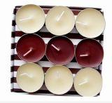 10g Tealight perfumada vela de cor
