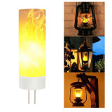 Indicatori luminosi tremuli della fiamma di emulazione di /G4 dell'indicatore luminoso della fiamma della lampadina Light/4G LED della fiamma di /G4 LED della lampada della fiamma G4