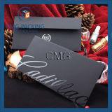 Schwarzer heißer stempelnder schwarzer LuxuxuVumschlag (CMG-ENV-005)