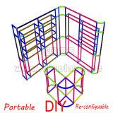 Материал выставки торговой выставки нестандартной конструкции портативный модульный для ювелирных изделий