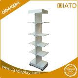 Le meilleur fournisseur de vente d'usine restant librement le présentoir de rangées du fil 5 en métal