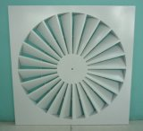 Алюминиевый потолок воздухораспределительную решетку завихрения воздуха