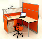 Рабочая станция перегородки штата горячей кабины офиса по сбыту одиночная (HF-YZM026)