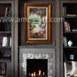 Peinture de paysage de jardin méditerranéen de l'huile pour la maison ou bureau de la décoration
