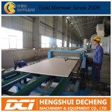Linha de produção profissional fornecedor da placa de gipsita