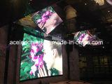 Visualización de alquiler de los media del LED, pantalla TV del LED