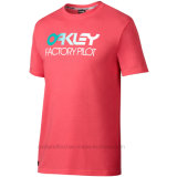 Teeshirt de loisirs de gradient le premier de circuit des hommes respirables sportifs de chemise