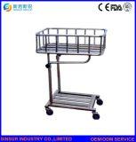 病院の家具の幼児使用のステンレス鋼の新しい赤ん坊の輸送のトロリーかベッド