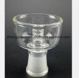 14.5mm, 18.8mm de Transparante Waterpijp van het Glas van de Vrouwelijke Haven van de Montage